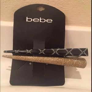 🍁5 for $20🍁 Bebe hair pins & clips